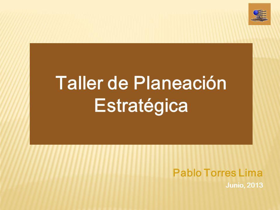 Taller de Planeación Estratégica Participantes