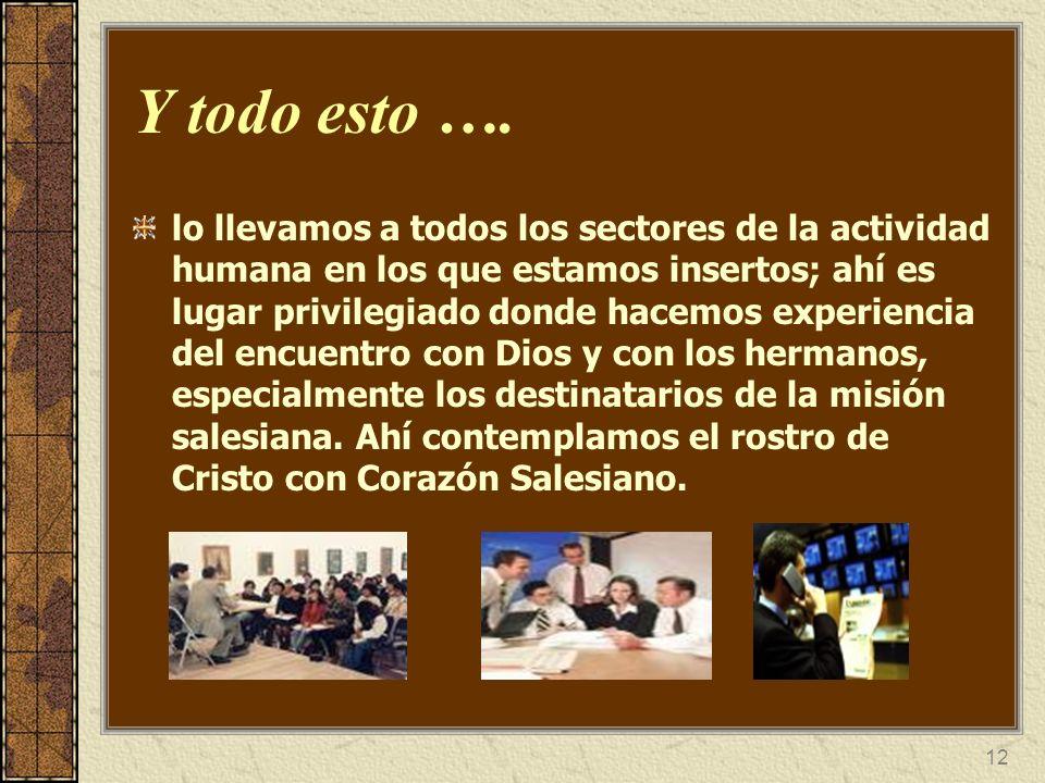 13 ¿En qué campos profesionales/laborales y apostólicos se desempeñan los CDB.