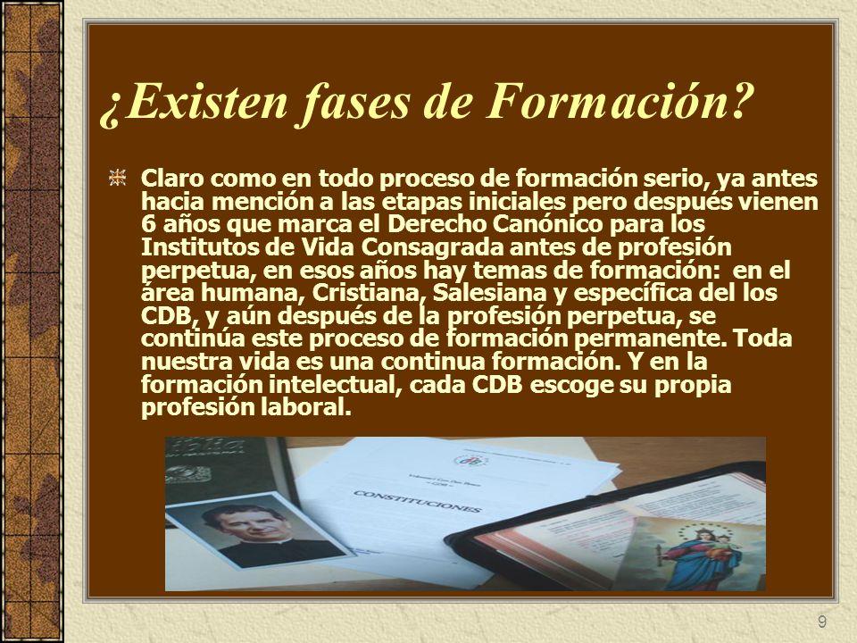 10 ¿Cómo se define la Salesianidad de un CDB.