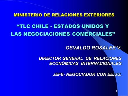 Direccion General De Relaciones Economicas Internacionales Ministerio De Relaciones Exteriores