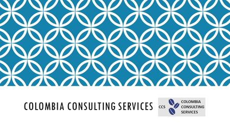 COLOMBIA CONSULTING SERVICES Inmediate Solutions.