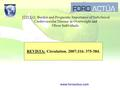 Www.foroactua.com REVISTA: Circulation. 2007;116: 375-384. TÍTULO: Burden and Prognostic Importance of Subclinical Cardiovascular Disease in Overweight.
