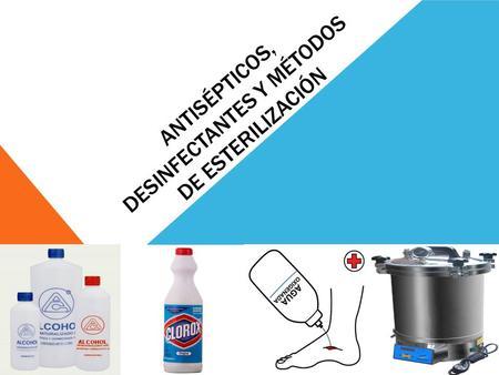 Antisepticos y desinfectantes pdf
