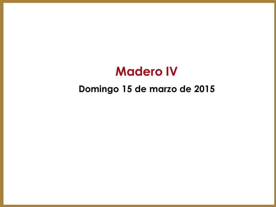 Mystery Shopper MADERO IV Mozo:Recepcionista:At.