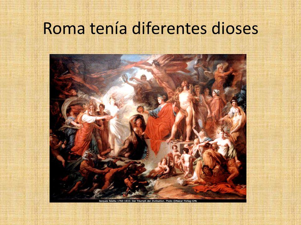 Roma: dioses como los del hogar: Protegían el hogar, los bienes, la fortuna y el destino