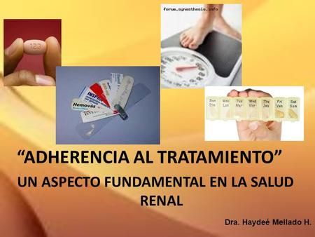 UN ASPECTO FUNDAMENTAL EN LA SALUD RENAL