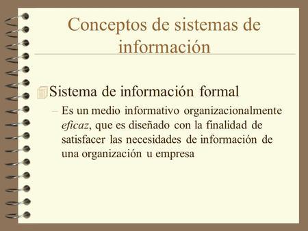 Concepto de sistema educativo formal