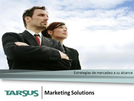 Marketing Solutions Estrategias de mercadeo a su alcance.
