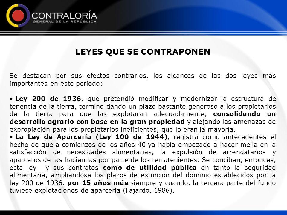 LOGROS DE INTERVENCION DE TIERRAS EN EL PERIODO 1910 - 1960 Se adjudicaron 4.170.947 has (88.6%), vía la titulación de baldíos, y 539.706 has (11.4%), en 470 fincas, mediante el esquema de parcelaciones, ventas propiciadas por el Banco Agrícola Hipotecario, Gobernaciones y Gobierno Nacional, evidenciandose dos hechos que, hacia delante, consolidarían dos grandes tendencias en materia de la gestión de los programas de reforma agraria: La titulación de baldíos y la concentración de la propiedad.