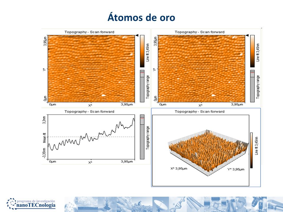 Nanotecnología : Precisión atómica Imagen de silicio cristalino Obtenida con un microscopio de fuerza atómica en el Instituto Tecnológico de Costa Rica Átomos de silicio