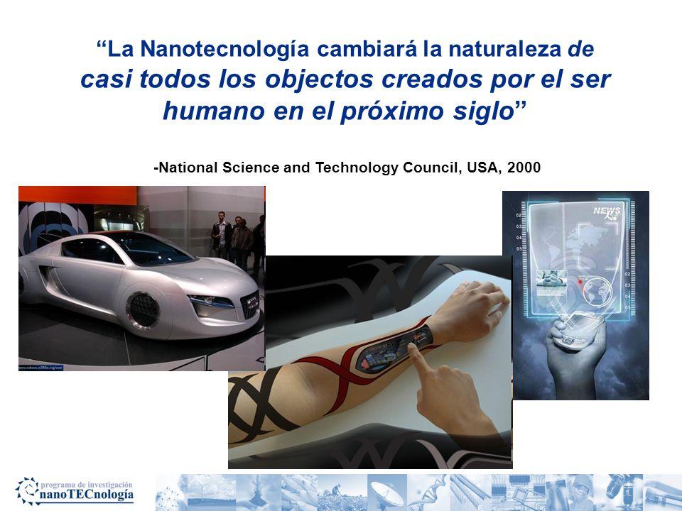 La Nanotecnología causará la siguiente revolución industrial -Charles Vest, Rector del Massachusetts Institute of Technology