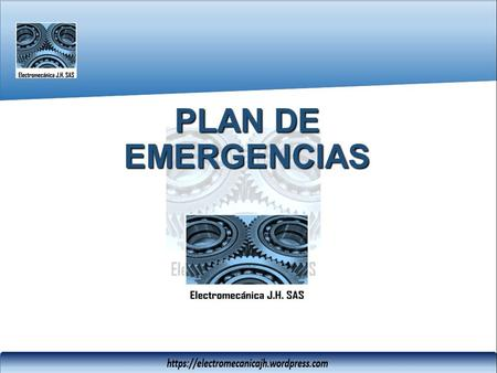 PLAN DE EMERGENCIAS.