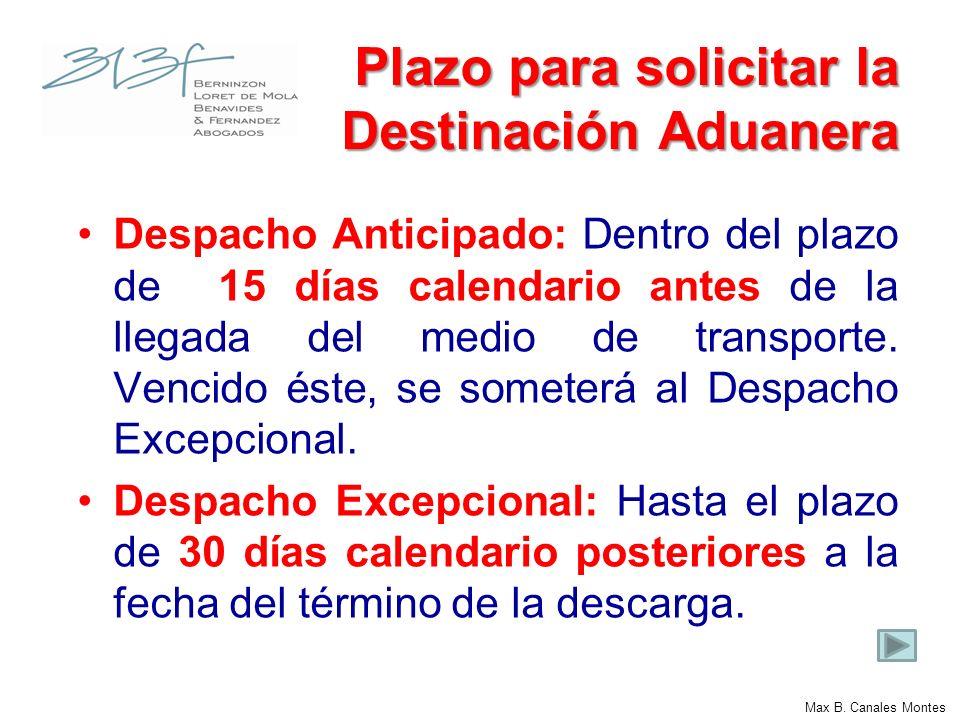 Declaración Aduanera Se solicita a través de medios electrónicos y es aceptada con la numeración.