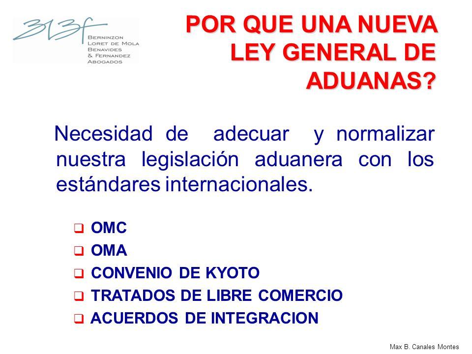 ANTECEDENTES TLC PERU - EE.UU – Capítulo de Procedimientos Aduaneros LEY 28977 – Ley de Facilitación del Comercio Exterior LEY 29176 – Ley de Simplificación Aduanera DECISION 671 – Armonización de Regímenes Aduaneros Max B.