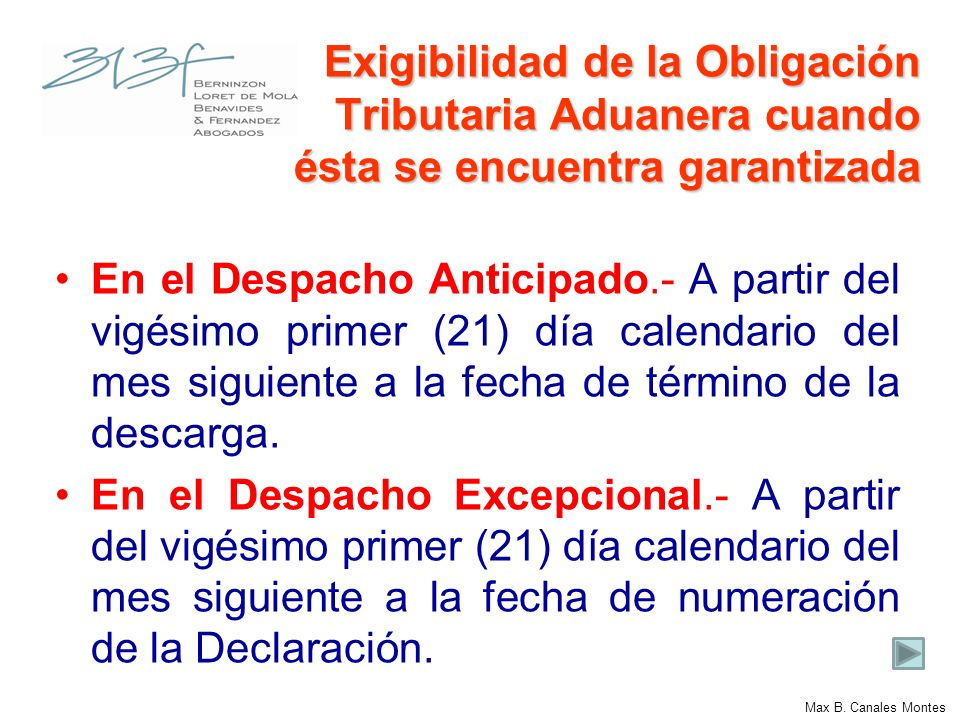 Garantías Garantía previa a la numeración de la Declaración Garantía Global.- Plazo no mayor a un (01) año.