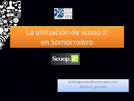 La utilización de scoop.it