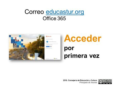 Correo educastur.org Office 365