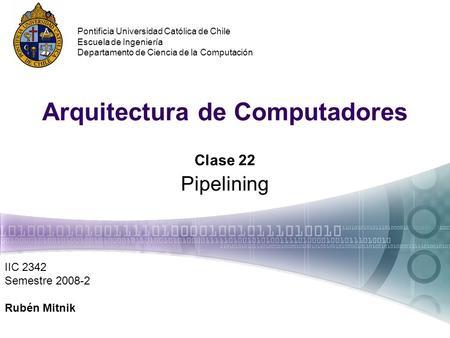 Arquitectura de computadores multiprocesador y for Arquitectura de computadores