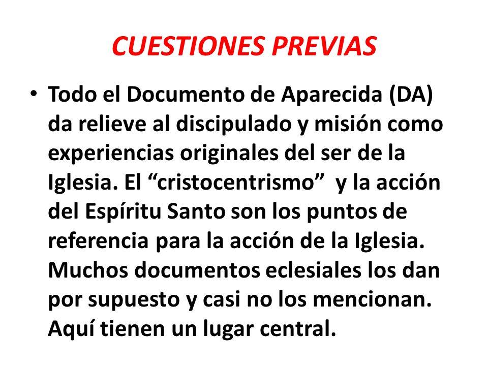 ESTRUCTURA DEL DOCUMENTO DA tiene tres partes bien definidas que reflejan el método teológico- pastoral del ver-juzgar-actuar que ha caracterizado siempre los documentos eclesiales de nuestra Iglesia latinoamericana, a excepción de la IV Conferencia en Santo Domingo.