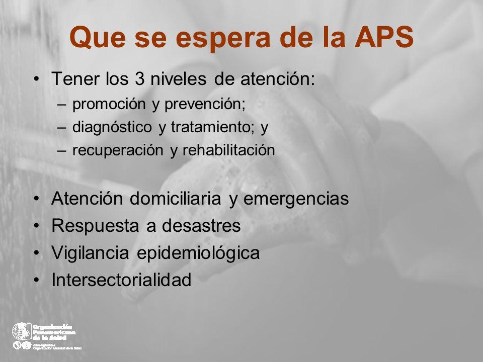 HOSPITAL DE DIA CENTROS DE SALUD CUIDADOS DOMICILIARIOS CENTROS ESPECIALIZADOS Equipos de Atención Primaria Sistema integrado de servicios de salud