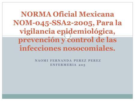 Nom 045 ssa2 2005