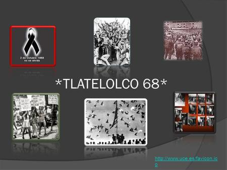 *TLATELOLCO 68* http://www.uce.es/favicon.ico.