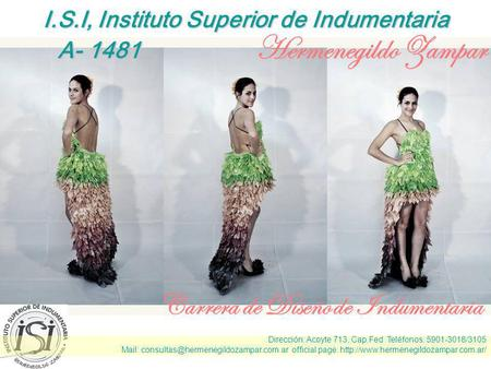 I.S.I, Instituto Superior de Indumentaria