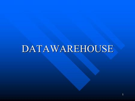DATAWAREHOUSE.