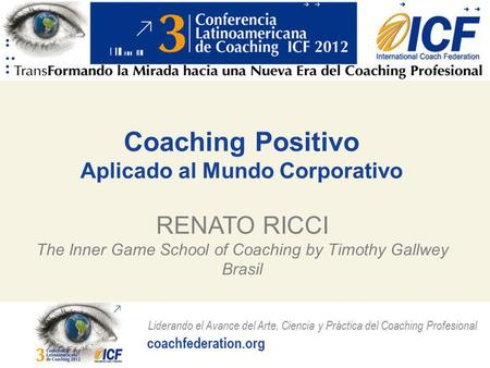 Coaching Positivo Aplicado al Mundo Corporativo