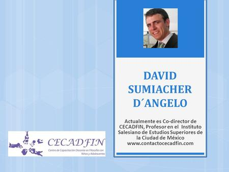 DAVID SUMIACHER D´ANGELO