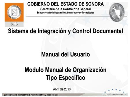 Sistema de Integración y Control Documental
