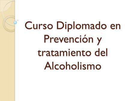 La dependencia de las sustancias narcóticas y el alcoholismo