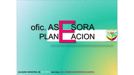 E ofic. AS SORA PLAN ACION