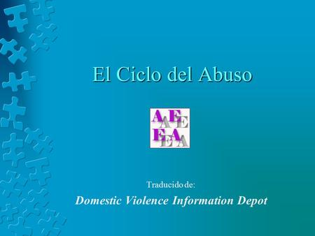 Traducido de: Domestic Violence Information Depot