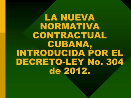 Decreto ley 734 de 2012