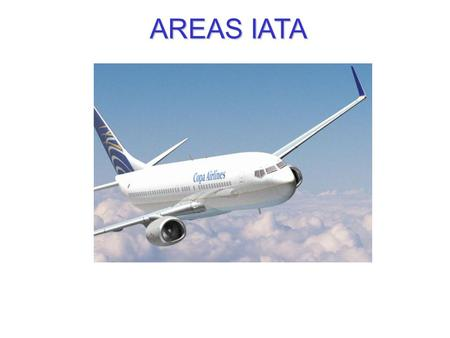 AREAS IATA.