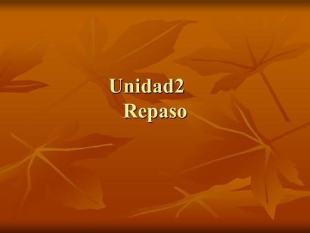Unidad2 Repaso. Vocabulario Volunteer Volunteer Media Media.