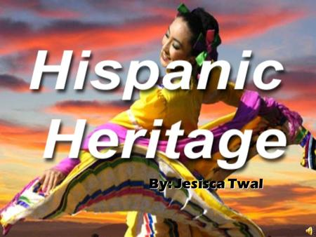 By: Jesisca Twal By: Jesisca Twal Summary Summary –H–H–H–Hispanic heritage month is a time in the United States where we pay tribute to the contributions.