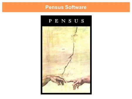 Pensus Software. Pensus Software, creando soluciones desde 1988.