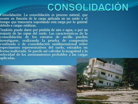 Astm d 2435 propiedades de consolidaci n unidimensional de for Consolidacion de suelos