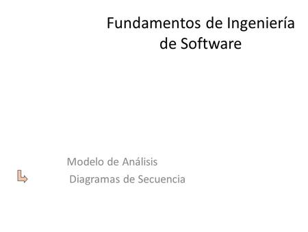 Fundamentos de Ingeniería de Software
