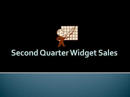  Second quarter sales  Actual sales compared to predicted sales  Have we reached our goals?  What needs to be implemented in order to increase sales?