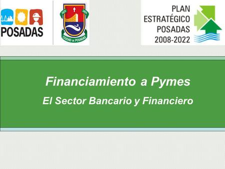 Financiamiento a Pymes El Sector Bancario y Financiero