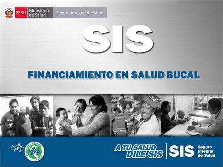 FINANCIAMIENTO EN SALUD BUCAL