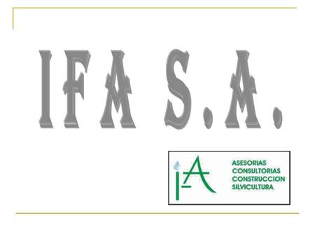 IFA S.A..