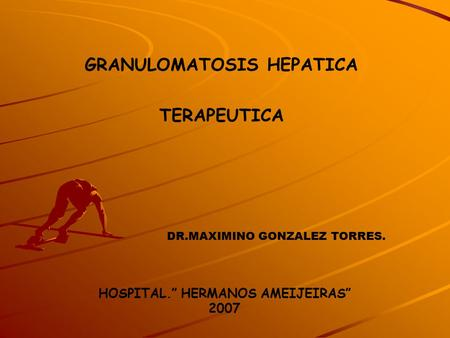 "HOSPITAL."" HERMANOS AMEIJEIRAS"" 2007"