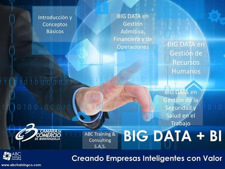 BIG DATA + BI Creando Empresas Inteligentes con Valor