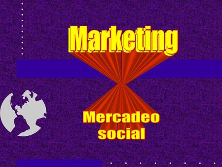 Marketing Mercadeo social.