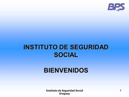 Instituto de seguridad social uruguay 1 banco de prevision for Oficina virtual de la seguridad social