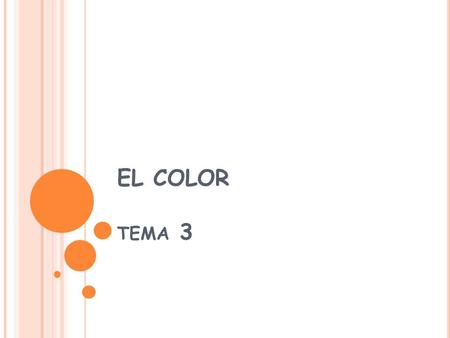 EL COLOR tema 3.